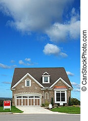 House For Sale - Brand new home for sale with brigh sky...