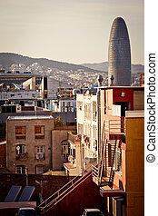 View of Barcelona, Spain.