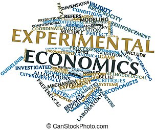 Experimental economics - Abstract word cloud for...