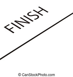 Finish Line - The race for the Finish Line.
