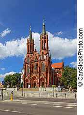 Basilica in Bialystok - Cathedral Basilica of the Assumption...