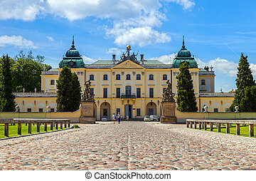 Branicki Palace is a historical edifice in Bialystok,...