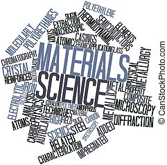 Word cloud for Materials science - Abstract word cloud for...