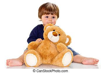 嬰孩, 熊,  Teddy