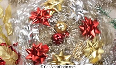 Christmas decoration - spinning Christmas decoration