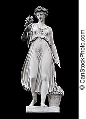 Summer - Allegorical sculpture (Summer) by in Piazza del...