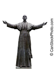 Pope Pius XII - Statue of Pope Pius XII