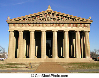 Parthenon - An exact replica of the Parthenon in Greece.