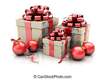 Group of presents