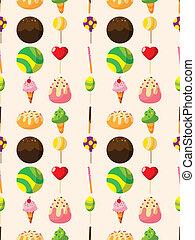 seamless candy pattern