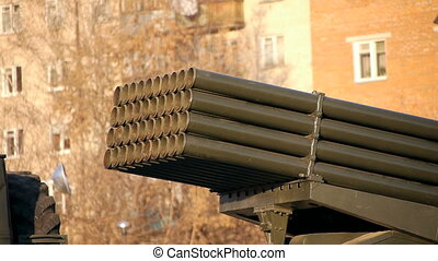 Grad Rocket System - Grad Multiple-Launch Rocket System at...