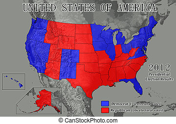 United States 2012 Election Results - United States of...