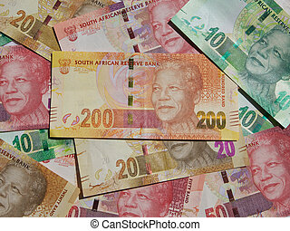 Money Notes - South Africa - New bank notes printed November...