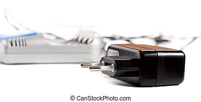 charger on a white background