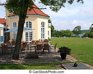 Classical country side hotel Funen Denmark