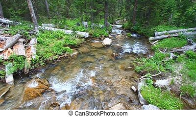 Big Tepee Creek in Wyoming