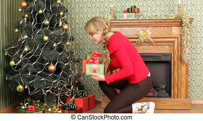 Hiding presents for New Year