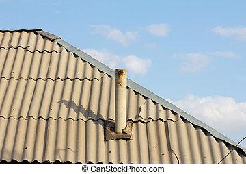 house roof slate