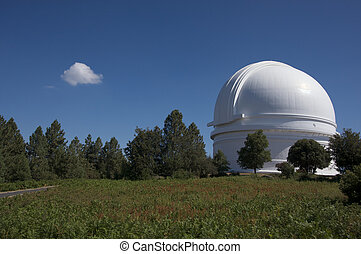 Mt Palomar Observatory in Southern California
