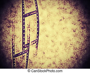 abstract film strip background, tex