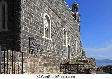 The Holy Church was built on the Sea Gennesaret - The Church...