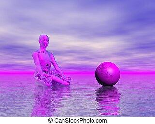 chakra purple