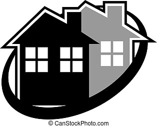 Elegance house icon - Creative design of elegance house icon