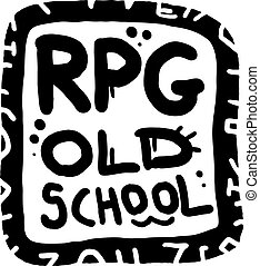 RPG old school - Creative design of RPG old school