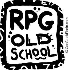 RPG old school - Creative design of RPG old school
