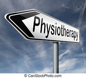 physiotherapy or physical therapy by therapist for...