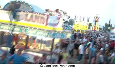 Centrifugal Fair Ride - Centrifugal based county fair ride...