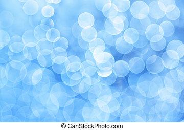 blaues, Licht, Abstrakt