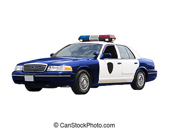 警察, 汽車