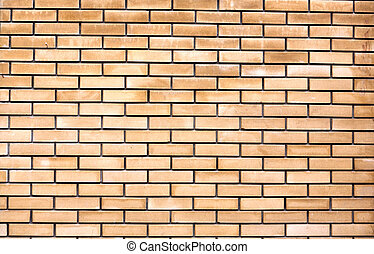 new stone wall of the brick