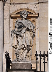 Statue of St  Jude the Apostle, sacred art