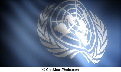 Flag of United Nations seamless
