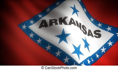 Flag of Arkansas seamless
