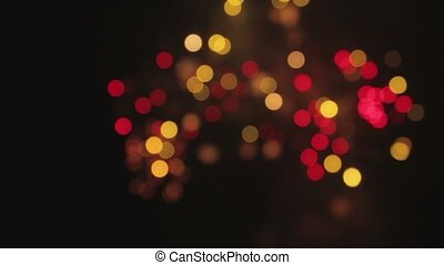 abstract background bokeh ofirework