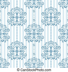 Royal Blue Background Pattern - Royal Blue and White...