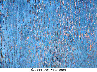 Texture - cracked paint on a wooden surface - Cracked paint...