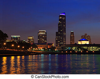 Chicago Cityscape - Chicago, Illinois cityscape by Lake...