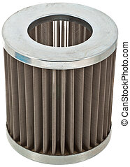 Hydraulic Filter - A Metal Hydraulic Oil Filter with a Metal...