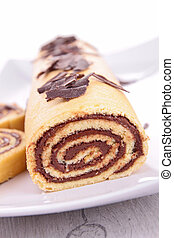 Yule log, swiss roll