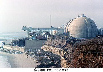 Nuclear Power Plant San Onofre, California