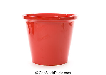 flowerpot - a flowerpot with white background