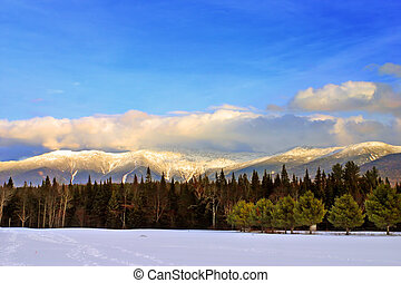 Bretton Woods, New Hampshire - Winter at Bretton Woods, New...