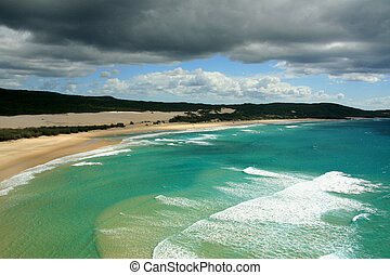 Tropical Beach - Fraser Island, UNESCO, Australia