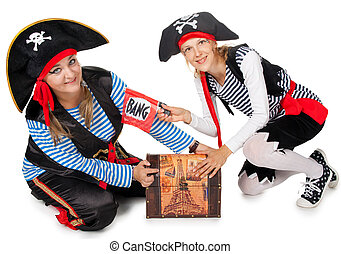 Funny pirates are making fun - Funny pirates are making fun...
