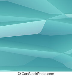 Crystalline facets - Abstract graphic design of smooth...