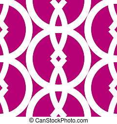 Seamless bold geometrics pattern - Bold and graphic seamless...